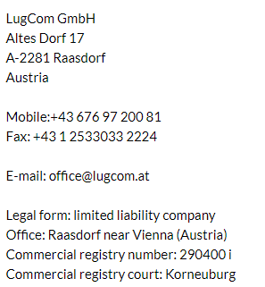 LugCom contacts : office<AT>lugcom.at
